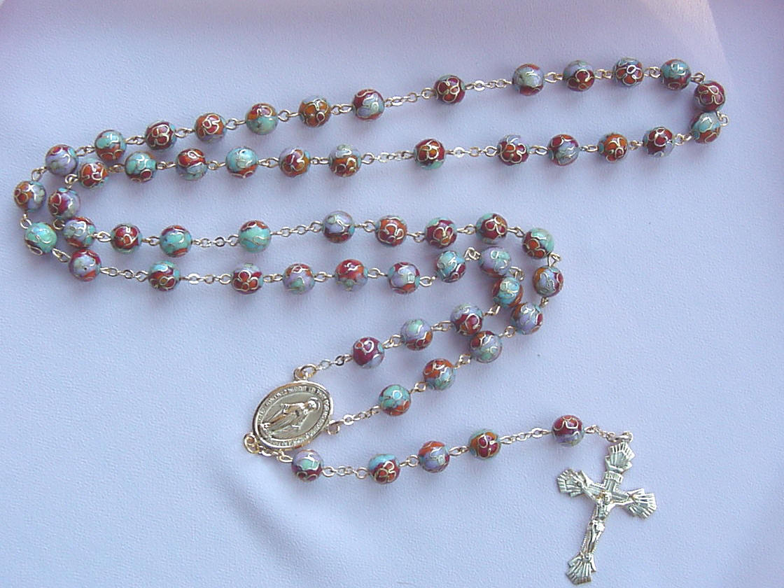 What are the rosaries for? 76